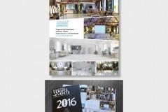 Lumiere London... Advertisement - Squaremeal Venues+Events 2016 Guide.