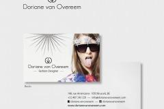 Doriane van Overeem... Visual identity and business card.