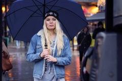 Alone in the crowd • Model: Karoline Bru • London